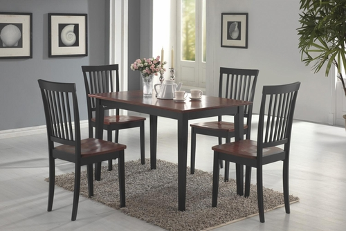 Oakdale Two Tone 5 Piece Dining Set  - 150153
