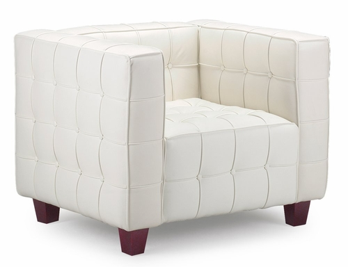 Occasional Chair - Button Armchair - Zuo Modern - 900201