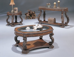 Occasional Table Set in Brown - Coaster - COAST-138911-TABLE-SET-1
