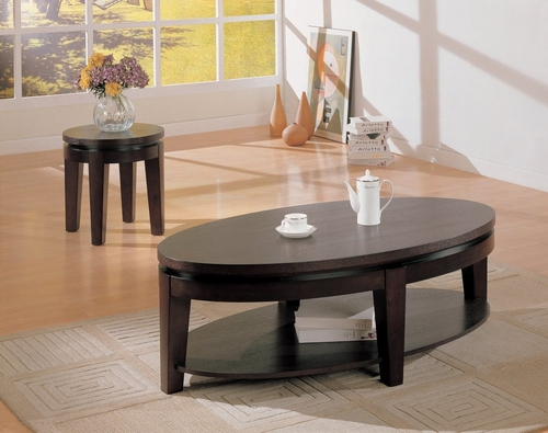 Occasional Table Set in Cappuccino - Coaster - COAST-17005971-TABLE-SET-1