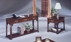Occasional Table Set in Mahogany - DMI Furniture