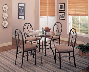 Odelia 5-Piece Dining Set - Coaster - 120565