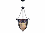 Odette Tiffany Foyer Fixture - Dale Tiffany