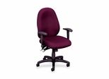 Office Chair- Burgundy - BSXVL630VA62
