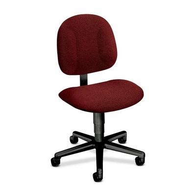Office Chair for Light Duty - Burgundy/Black Frame - HON7901AB62T
