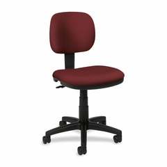 Office Chair for Light Duty - Burgundy - BSXVL610VA62
