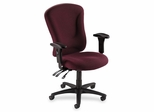 Office Chair for Managers - Burgundy - LLR66152