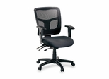 Office Chair Mid Back - Black - LLR86201