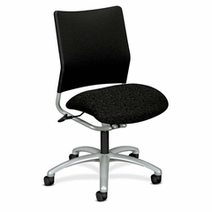 Office Chair Mid Back - Raven - HON4241BE11BC