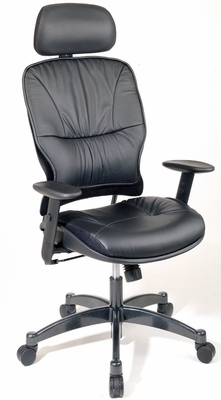 Office Chair - Office Star - 29008 - Executive Leather High-Back