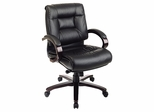 Office Chair - Office Star - 8501 - Executive Leather Medium-Back