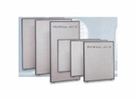 Office Panel System in Slate Trim with Light Gray Fabric - ProPanel Collection - Bush Office Furniture