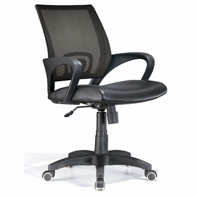 Officer Office Chair Black - LumiSource - OFC-OFFCR-BK