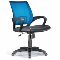 Officer Office Chair Blue - LumiSource - OFC-OFFCR-MBU