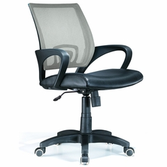 Officer Office Chair Silver - LumiSource - OFC-OFFCR-SV
