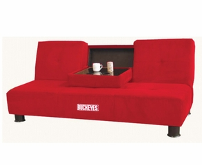 Ohio State Convertible Sofa with Tray - Imperial International - 852213