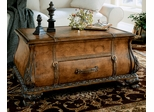 Old World Map Bombay Trunk Coffee Table