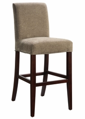 "Olive Green Chenille ""Slip Over"" for Counter Stool or Bar Stool - Powell Furniture - 742-209Z"