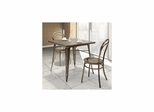 Olympia Gunmetal 3pc Dining Set - Zuo