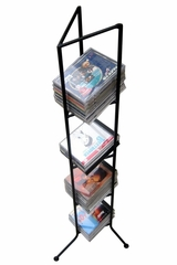 Olympus CD Holder Medium - Black - Pangaea Home and Garden Furniture - FM-C4300M-K