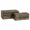 Omiska Rectangle Boxes (Set of 2) - IMAX - 70405-2