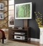 "Open Corner Media Stand - ""Espresso"" - Powell Furniture - 741-954"