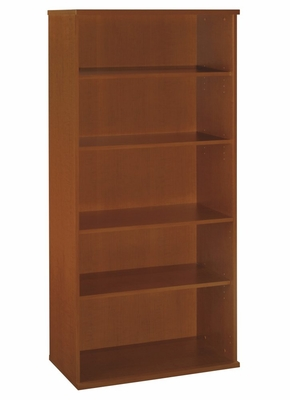 Open Double Bookcase - Series C Auburn Maple Collection - Bush Office Furniture - WC48514