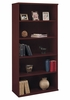 Open Double Bookcase - Series C Mahogany Collection - Bush Office Furniture - WC36714