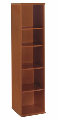 Open Single Bookcase - Series C Auburn Maple Collection - Bush Office Furniture - WC48512