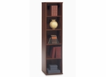 Open Single Bookcase - Series C Hansen Cherry Collection - Bush Office Furniture - WC24412