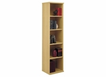 Open Single Bookcase - Series C Light Oak Collection - Bush Office Furniture - WC60312