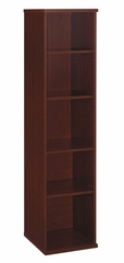 Open Single Bookcase - Series C Mahogany Collection - Bush Office Furniture - WC36712