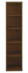 Open Single Bookcase - Series C Warm Oak Collection - Bush Office Furniture - WC67512