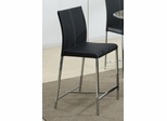 Ophelia Contemporary Black Bar Stool - Set of 4 - 103737