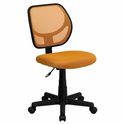 Orange Mesh Computer Chair - WA-3074-OR-GG