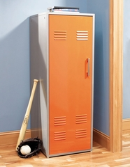 Orange Storage Locker - Teen Trends - Powell Furniture - 517-124