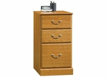 Orchard Hills 3-Drawer Pedestal Carolina Oak - Sauder Furniture - 401804