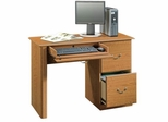 Orchard Hills Computer Desk Carolina Oak - Sauder Furniture - 401562