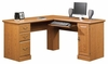 Orchard Hills Corner Computer Desk Carolina Oak - Sauder Furniture - 401929