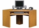 Orchard Hills Corner Computer Desk Carolina Oak - Sauder Furniture - 402176