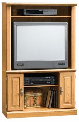 Orchard Hills Corner Entertainment Center Carolina Oak - Sauder Furniture - 401320