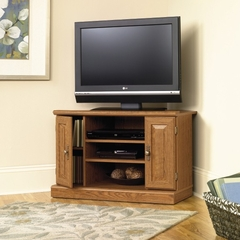 Orchard Hills Corner TV Stand Carolina Oak - Sauder Furniture - 401486