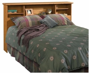 Orchard Hills Full / Queen Bookcase Headboard Carolina Oak - Sauder Furniture - 401294