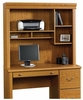 Orchard Hills Hutch For 402174 Computer Desk Carolina Oak - Sauder Furniture - 402175