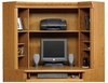 Orchard Hills Hutch For 402176 Computer Desk Carolina Oak - Sauder Furniture - 402177