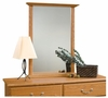 Orchard Hills Mirror Carolina Oak - Sauder Furniture - 401340