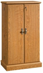 Orchard Hills Multimedia Storage Cabinet Carolina Oak - Sauder Furniture - 401349