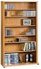 Orchard Hills Multimedia Storage Tower Carolina Oak - Sauder Furniture - 401739
