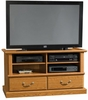Orchard Hills Universal TV Stand Carolina Oak - Sauder Furniture - 401268