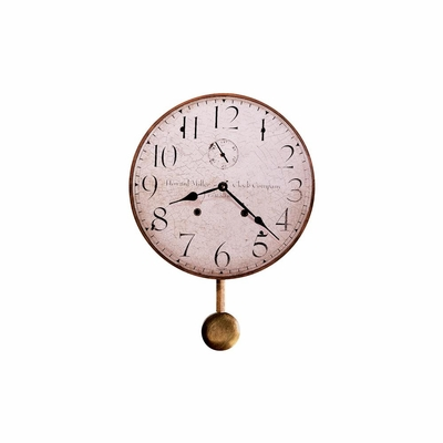 Original Howard Miller II Round Wall Clock - Howard Miller